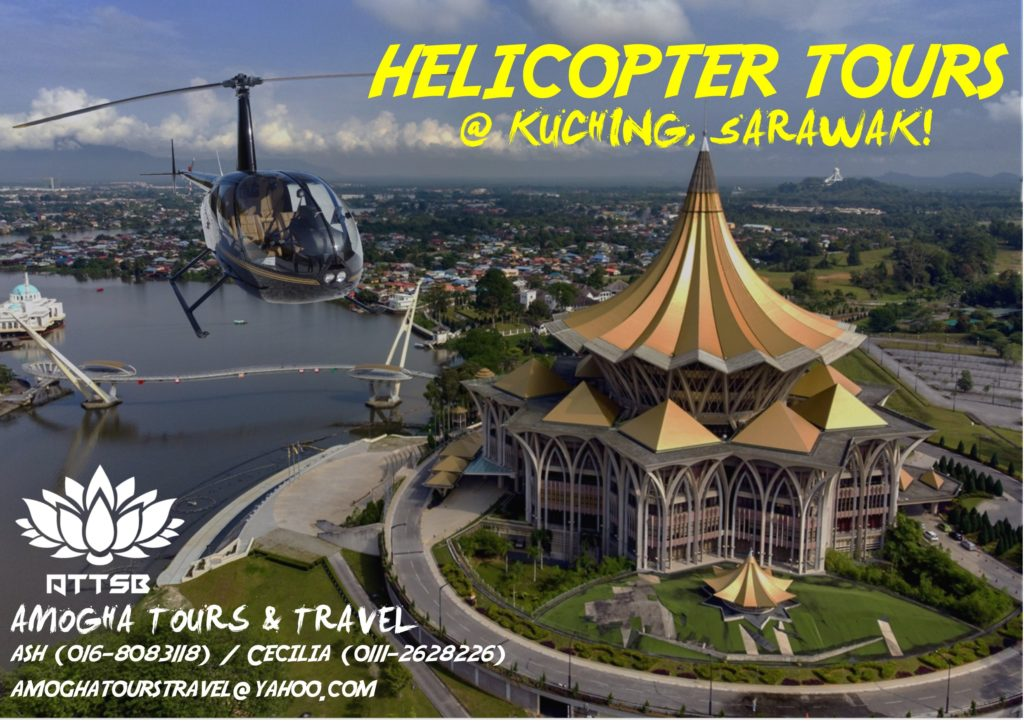 Helicopter Tours in Kuching